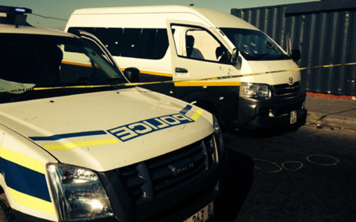 FILE: Two people were wounded in a shoot-out at the Lenasia taxi rank on 10 June. Picture: Lauren Isaacs/EWN.