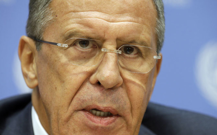 Russian Foreign Minister Sergei Lavrov. Picture: EPA.
