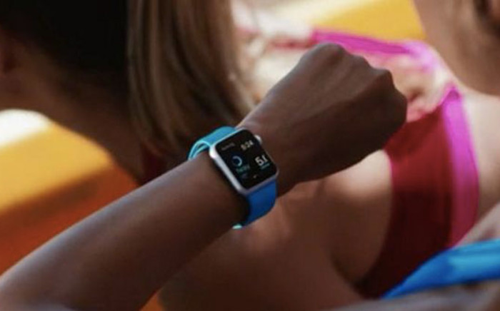 Apple unveiled its long-anticipated smartwatch on Tuesday. Picture: Twitter.