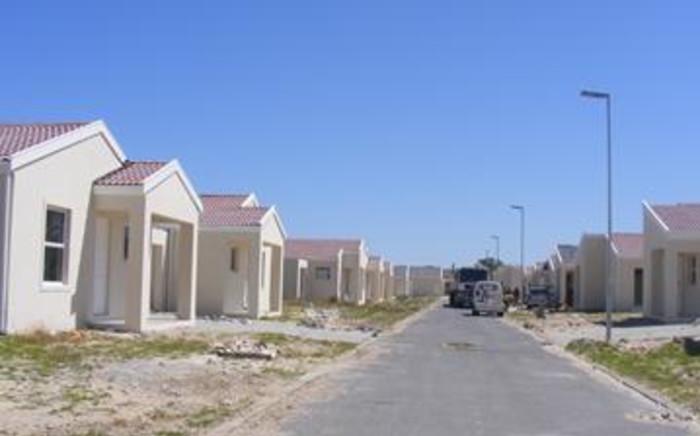FILE: A housing estate in Cape Town. Picture: EWN