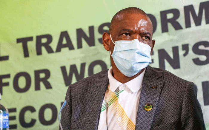 Suspended ANC secretary-general Ace Magashule. Picture: Boikhutso Ntsoko/Eyewitness News.