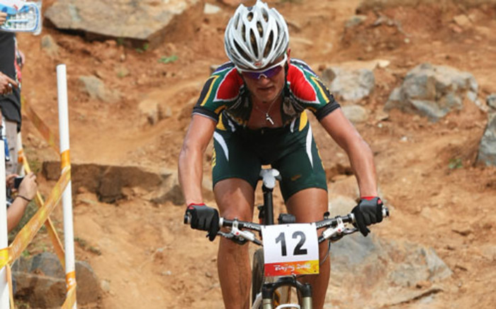 South African Olympic Cyclist Burry Stander. Picture: AFP.