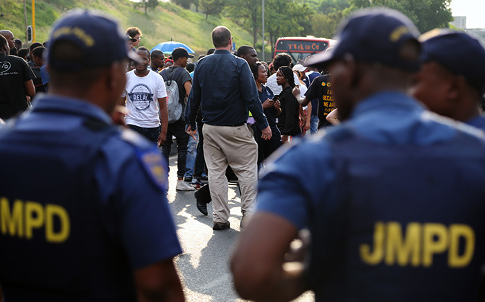 FILE: Johannesburg Metro Police Department officers. Picture: Reinart Toerien/EWN.