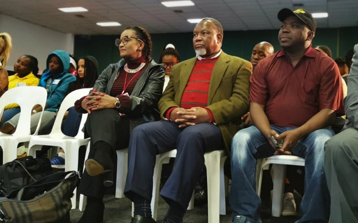 Former President Kgalema Motlanthe at the Youth Expo in Nasrec. Picture: Gauteng Province.