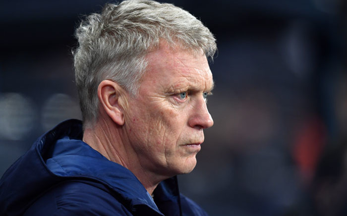 FILE: West Ham United manager David Moyes awaits kick off in the English Premier League football match between Manchester City and West Ham United at the Etihad Stadium in Manchester, northwest England, on 19 February 2020. Picture: AFP