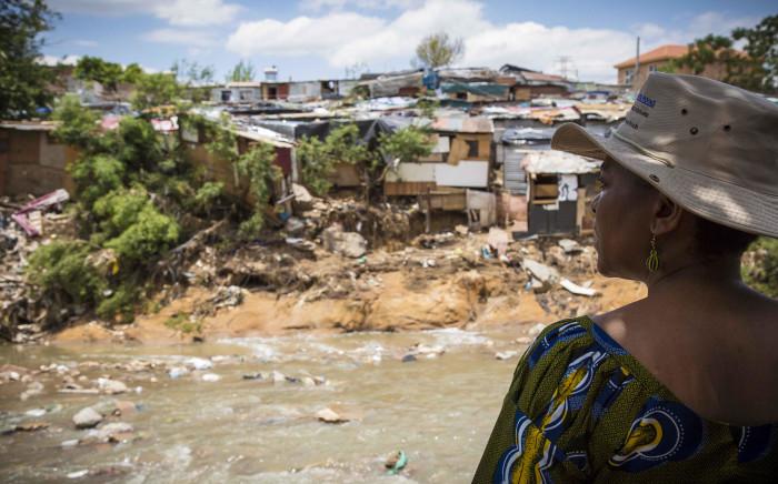 FILE: Gauteng Social Development dept. MEC Nandi Mayathula-Khoza visits Alexandra residents affected by last weeks flash floods. Picture: Thomas Holder/EWN