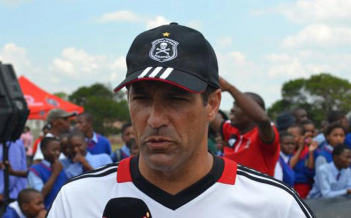 Orlando Pirates coach Roger De Sa. Picture: Orlando Pirates official Facebook page.