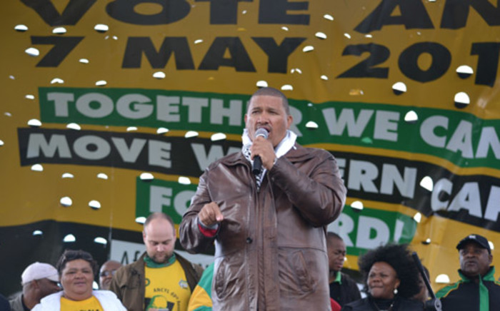 FILE: ANC Western Cape leader Marius Fransman on the campaign trail in 2014. Picture: Renee de Villiers/EWN.