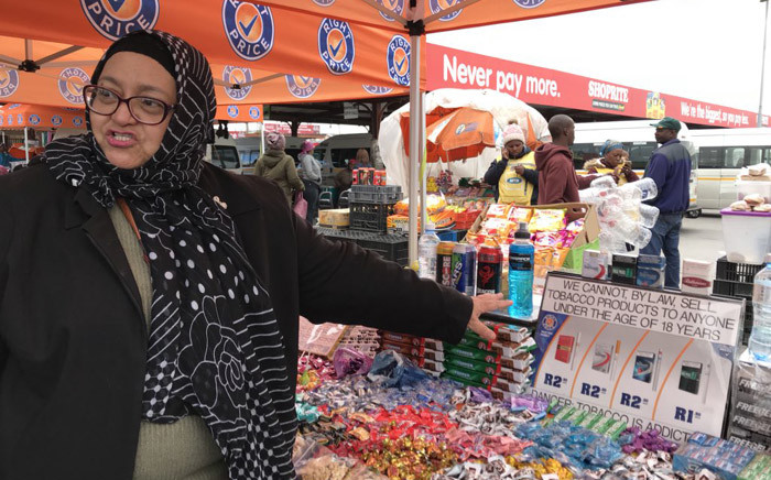 FILE: The South African Informal Traders Alliance visited the Khayelitsha taxi rank. Picture: Kaylynn Palm/EWN