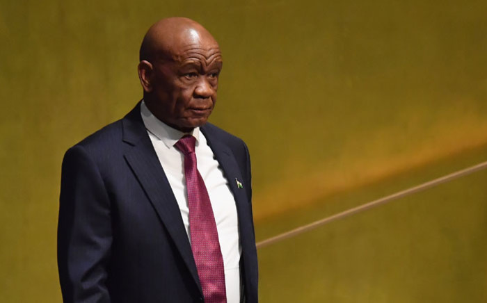FILE: Lesotho Prime Minister Tom Thabane. Picture: AFP