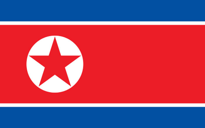 FILE: North Korean Flag. Picture: Wikicommons.