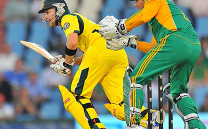 Australian all-rounder Shane Watson. Picture: AFP