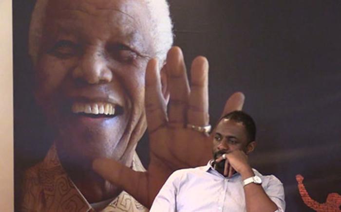 British actor Idris Elba who plays Nelson Mandela in the movie 'Mandela: Long Walk to Freedom'. Picture: Vumani Mkhize/EWN.