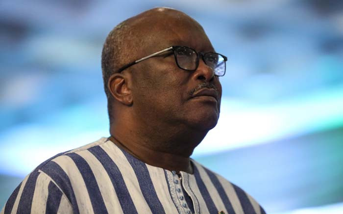 FILE: Burkina Faso President Roch Marc Christian attends fifty-sixth ordinary session of the Economic Community of West African States in Abuja on 21 December 2019. Picture: AFP.