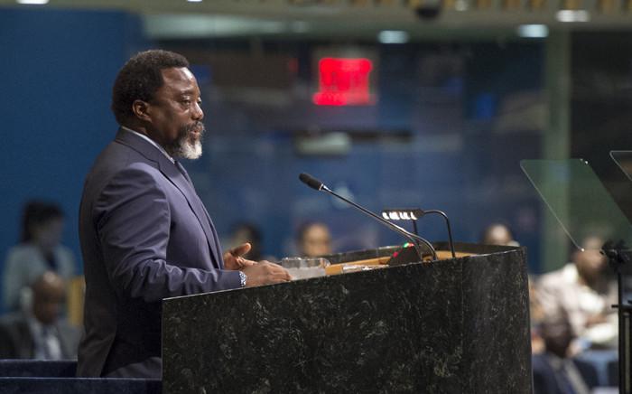 FILE: President of the Democratic Republic of the Congo Joseph Kabila Kabange. Picture: United Nations Photo.