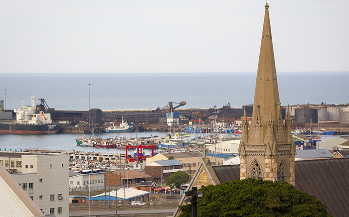 A view over Port Elizabeth harbour from Donkin Reserve. Picture: Aletta Harrison/EWN