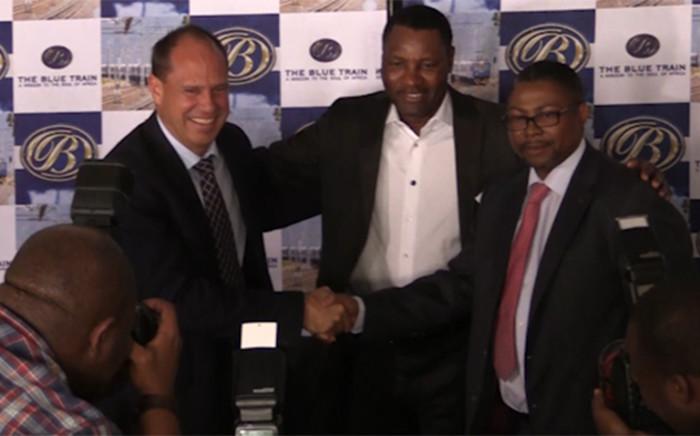 Transnet, Sun International and Tourism SA boss  launching new venture. Picture: Kgothatso Mogale/EWN