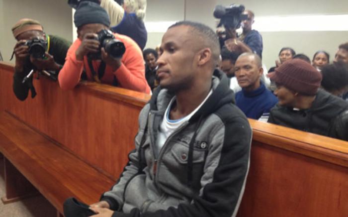 Johannes Kana in the dock during sentencing at Swellendam High Court. Picture:Renee de Villiers/EWN