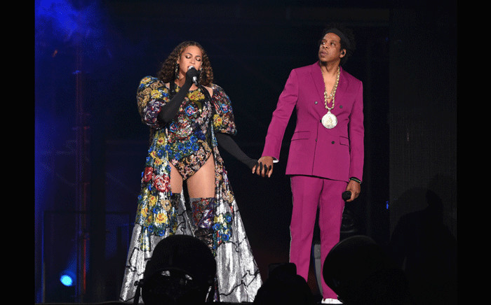 Jay Z and Beyonce perform at the Global Citizen Festival on 2 December 2018 at the FNB Stadium. Picture: Supplied.