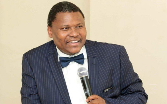 The chairperson of the Council for Medical Schemes Professor Lungile Pepeta. Picture: @DrBladeNzimande/Twitter.