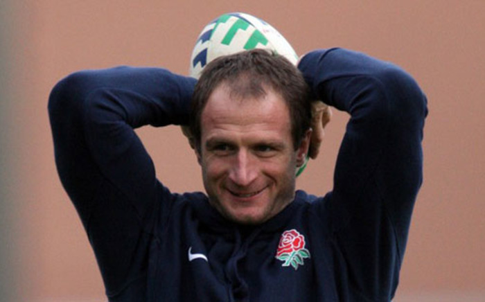 Mike Catt, attacking skills coach for England's rugby team. Picture: AFP.