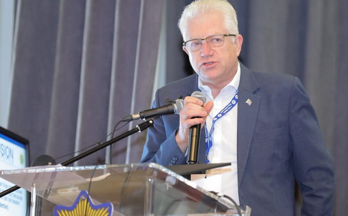 Western Cape Premier Alan Winde at the crime summit. Picture: SAPS