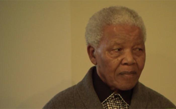 A screengrab of Former President Nelson Mandela. Picture: CNN.