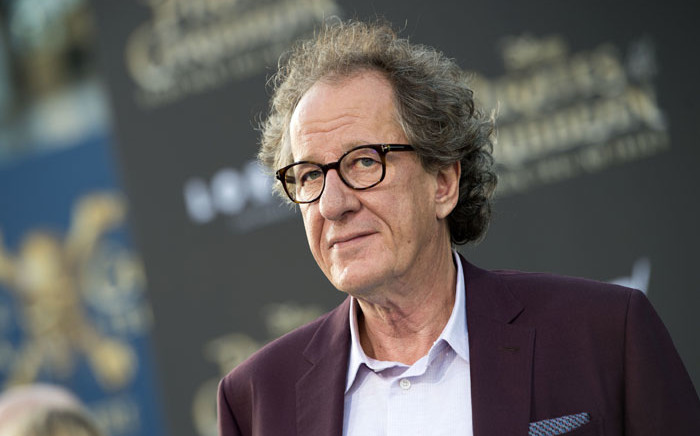 FILE: Geoffrey Rush. Picture: AFP