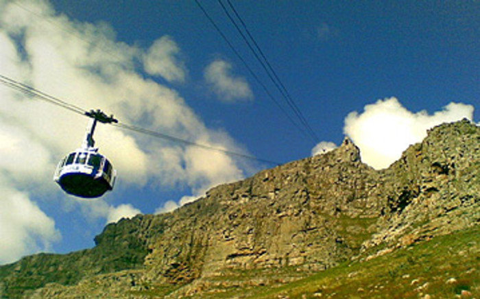 Table mountain cable car in Cape Town. Picture: Eyewitness News