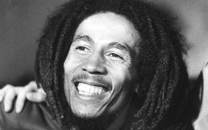 An unlocated photo taken in 1976 shows Jamaican reggae star Bob Marley, who died on 11 May 1981 at the age of 36 at Cedars Sinai hospital in Miami following a cancer. Picture: AFP.