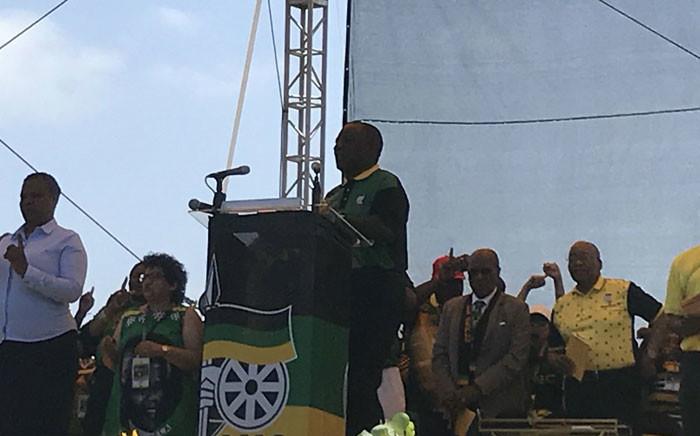 ANC President Cyril Ramaphosa. Picture: EWN.
