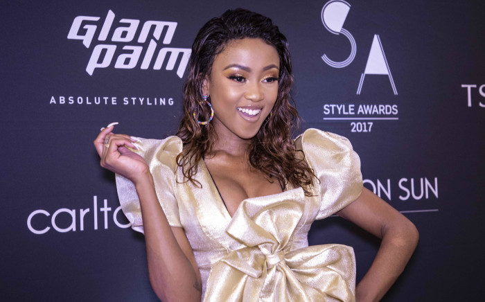 Nomuzi Mabena at the SA Style Awards 2018 in Sandton City. Picture: Abigail Javier/EWN