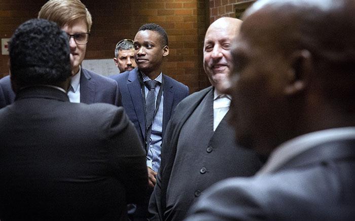 Former President Jacob Zuma's son Duduzane Zuma inside the Pietermaritzburg High Court.Picture: Sethembiso Zulu/EWN