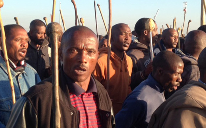 FILE: Mr X told the commission if Senzeni Zokwana approached the miners he risked being killed. Picture: Vumani Mkhize/EWN.