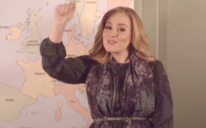 Superstar Adele. Picture: Supplied.
