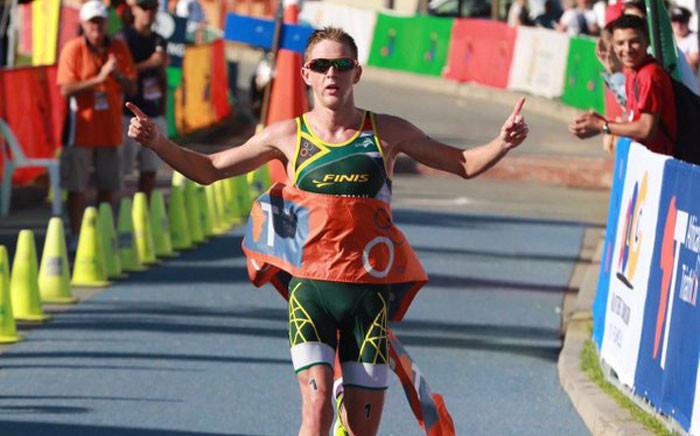 SA triathlete Henri Schoeman. Picture: @H_Schoeman