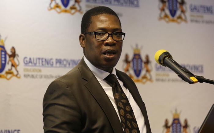 Gauteng Education MEC Panyaza Lesufi. Picture: Christa Eybers/EWN