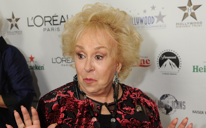 This file photo taken on 3 November, 2010 shows actress Doris Roberts arriving on the red carpet for the 50th anniversary birthday bash of the Hollywood Walk of Fame at the Kodak Theater in Hollywood, California. Picture: AFP.