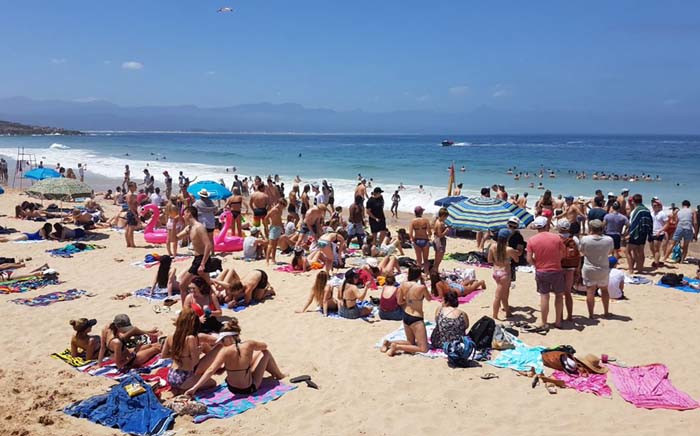 FILE: Matrics at the annual end-of-year party bash known as Plett Rage. Picture: Twitter/@Plett_Tourism