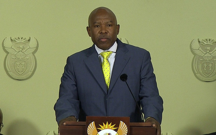 Newly appointed Reserve Bank governor Lesetja Kganyago at his appointment in Pretoria on 06 October 2014. Picture: Reinart Toerien/EWN.