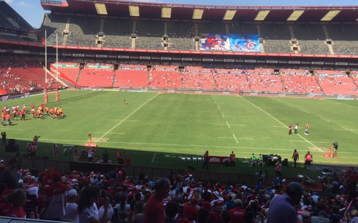Bulls vs Lions on 2 March. Picture: EWN Sport.