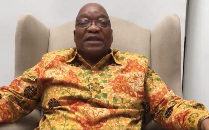 FILE: Former President Jacob Zuma. Picture: @PresJGZuma/Twitter.