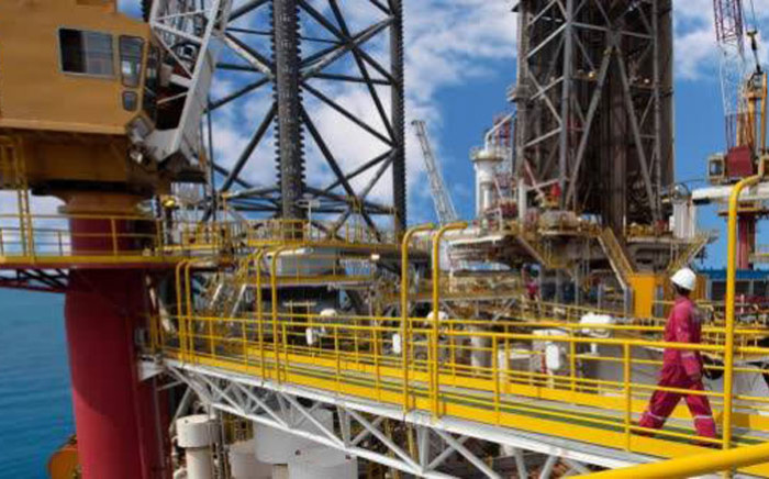 A Total oil and gas exploration rig. Picture: Total Facebook page
