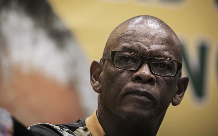 African National Congress (ANC) Secretary-General Ace Magashule at the press briefing in Moses Mabhida Stadium, Durban on 11 January 2019. Picture: Sethembiso Zulu/EWN