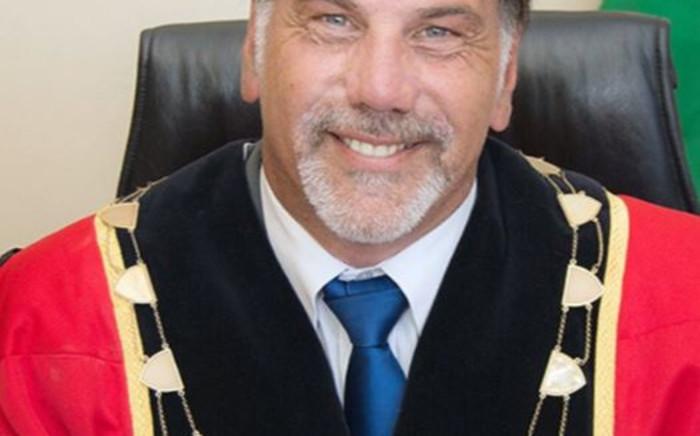 FILE: Saldanha Bay Municipality Mayor Marius Koen. Picture: @EFFWesternCape_ / Twitter.