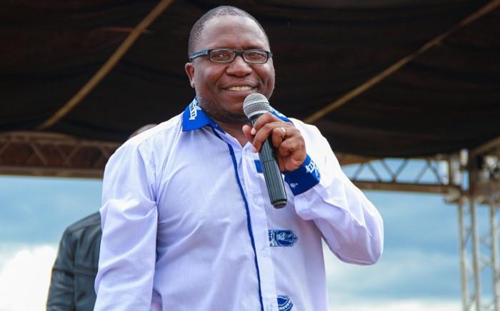 Zimbabwean opposition politician Jacob Ngarivhume. Picture: @jngarivhume/Twitter