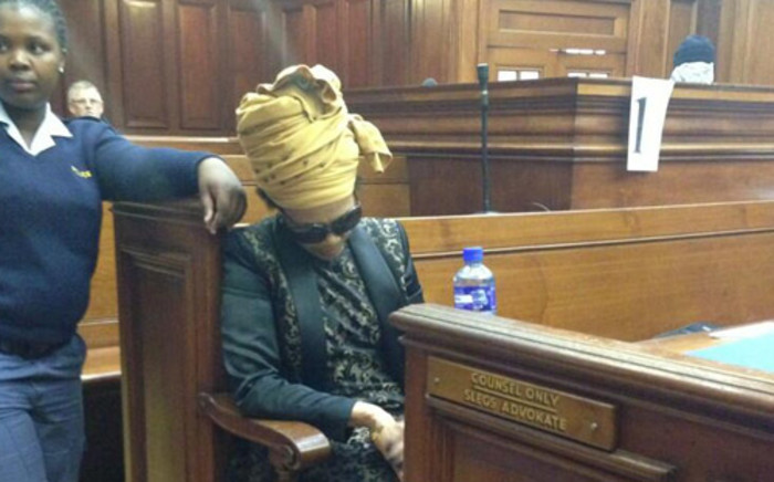 FILE: Thandi Maqubela looks weak and dizzy sitting on a bench, head down, breathing heavily during the murder trial of her husband, acting Judge Patrick Maqubela. Picture: Rahima Essop/EWN