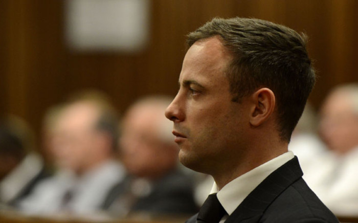 FILE: Oscar Pistorius waits in the dock at the High Court in Pretoria on 21 October 2014. Picture: Pool.
