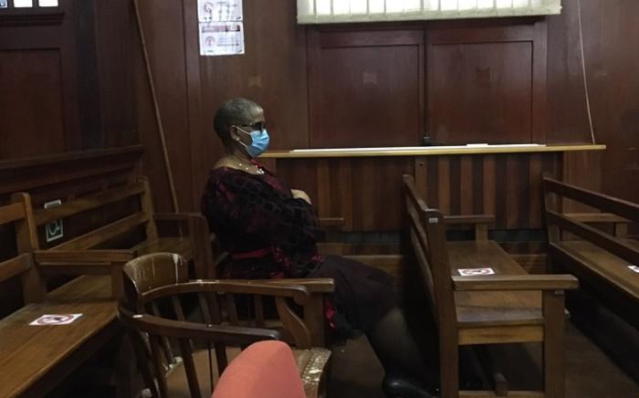 Zandile Gumede inside the Durban High Court on 14 June 2021. Picture: Nkosikhona Duma/EWN.