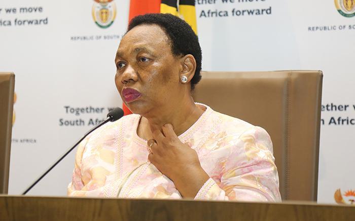 FILE: Basic Education Minister Angie Motshekga.  Picture: Christa Eybers/EWN.